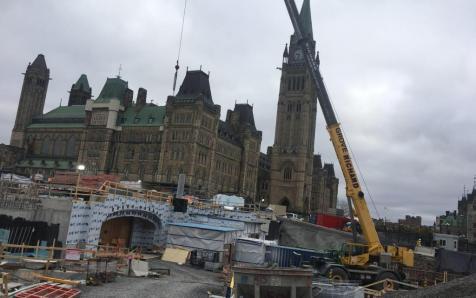 Work in the Ottawa Parliament Ottawa 2018-01-02 00:00:00